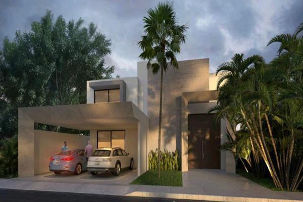 Foto de casa en venta en 40 , privada palma corozal, mérida, yucatán, 19008327 No. 01