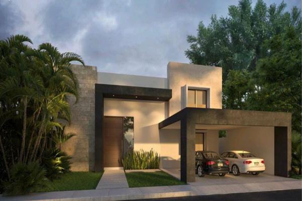 Foto de casa en venta en 40 , privada palma corozal, mérida, yucatán, 19022310 No. 01