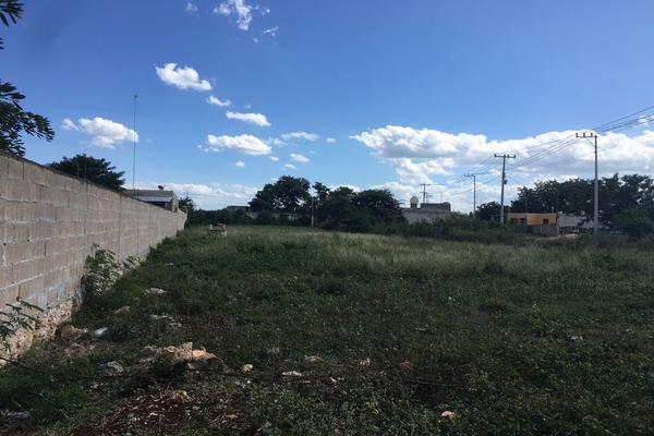 Foto de terreno habitacional en venta en 40 , san pedro noh pat, kanasín, yucatán, 0 No. 02