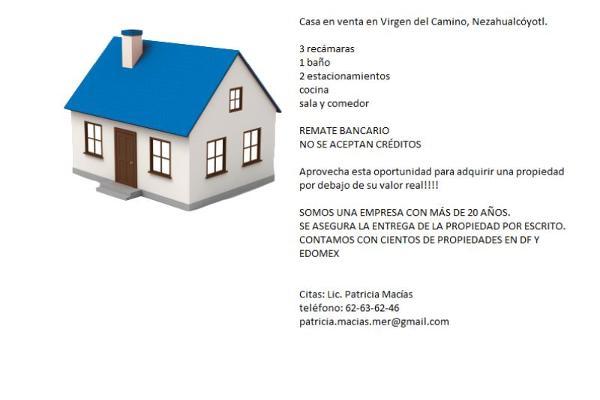 Foto de casa en venta en virgen del camino 40, tamaulipas, nezahualcóyotl, méxico, 2654306 No. 02