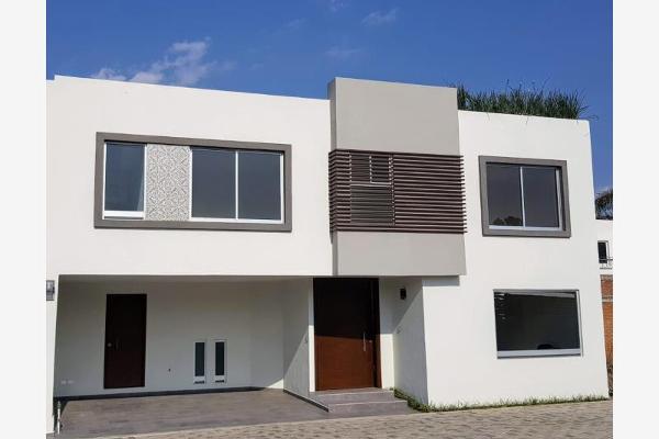 Foto de casa en venta en 42 oriente 1, residencial la carcaña, san pedro cholula, puebla, 5440943 No. 01