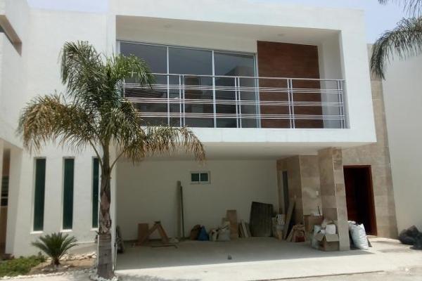 Foto de casa en venta en 42 oriente 1, residencial la carcaña, san pedro cholula, puebla, 8876771 No. 01