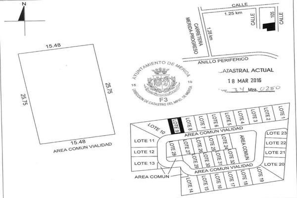 Foto de terreno habitacional en venta en 42 , temozon norte, mérida, yucatán, 8152977 No. 12
