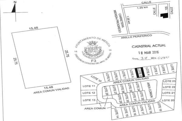 Foto de terreno habitacional en venta en 42 , temozon norte, mérida, yucatán, 8152977 No. 13