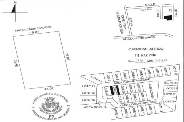 Foto de terreno habitacional en venta en 42 , temozon norte, mérida, yucatán, 8152977 No. 15