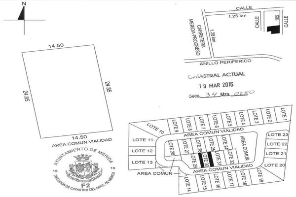 Foto de terreno habitacional en venta en 42 , temozon norte, mérida, yucatán, 8152977 No. 16