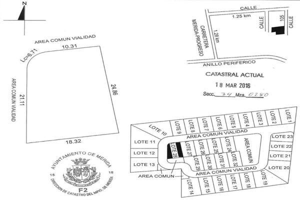 Foto de terreno habitacional en venta en 42 , temozon norte, mérida, yucatán, 8152977 No. 17