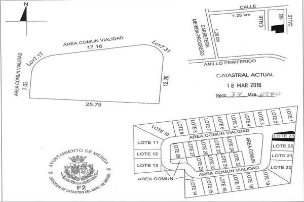 Foto de terreno habitacional en venta en 42 , temozon norte, mérida, yucatán, 8152977 No. 18