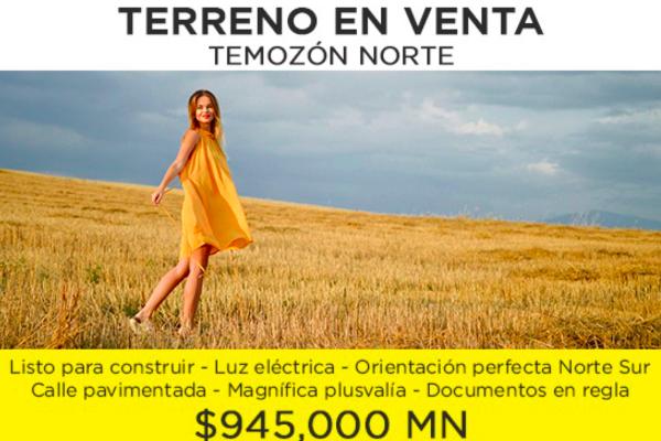 Foto de terreno habitacional en venta en 44427 tablaje , temozon norte, mérida, yucatán, 3913253 No. 01
