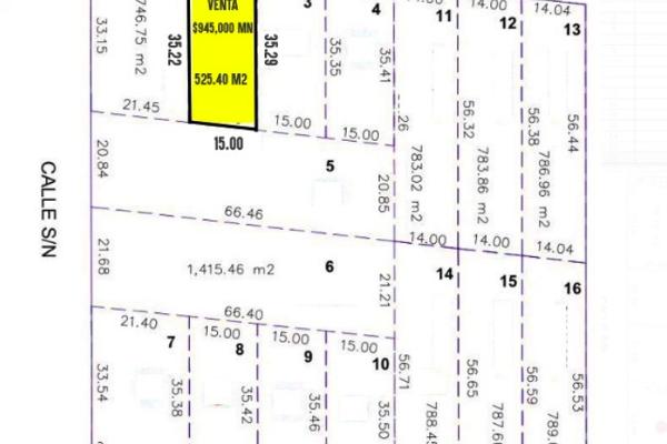 Foto de terreno habitacional en venta en 44427 tablaje , temozon norte, mérida, yucatán, 3913253 No. 07