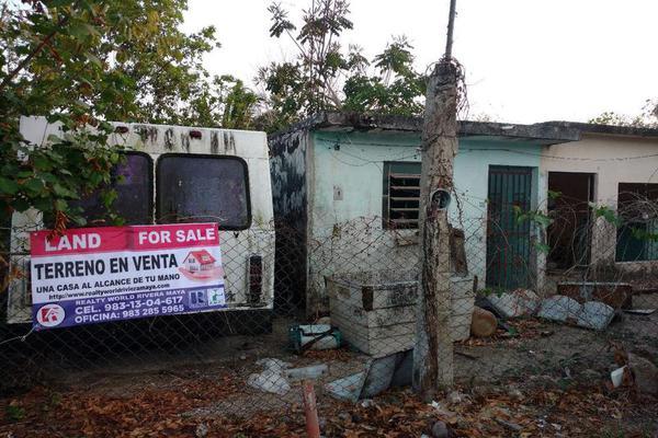 Foto de terreno habitacional en venta en  , 5 de mayo, bacalar, quintana roo, 7503802 No. 01
