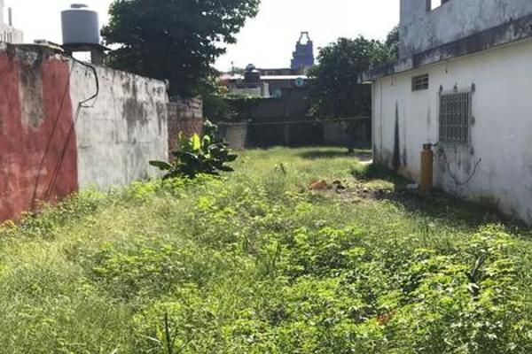 Foto de terreno habitacional en venta en  , 5 de mayo, huimanguillo, tabasco, 7160265 No. 01