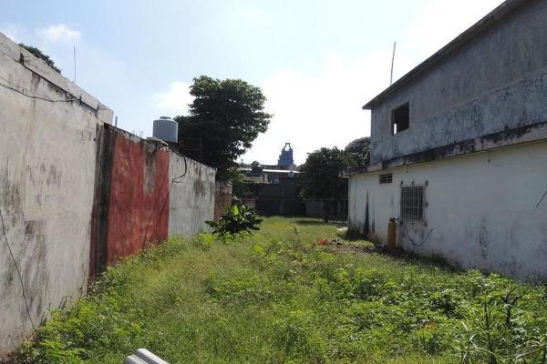 Foto de terreno habitacional en venta en  , 5 de mayo, huimanguillo, tabasco, 7160265 No. 02