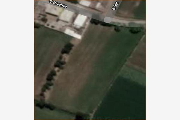 Foto de terreno habitacional en venta en 5 oriente , juan uvera, atlixco, puebla, 8356905 No. 01