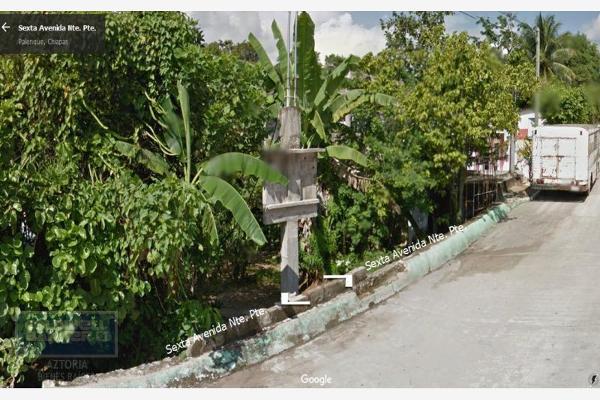 Foto de terreno habitacional en venta en avenida 12 de octubre 5, palenque centro, palenque, chiapas, 2711774 No. 01