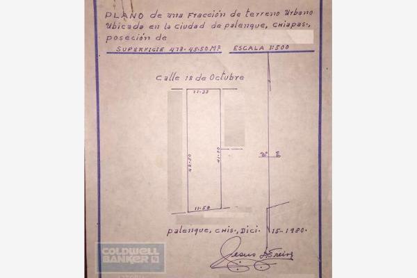 Foto de terreno habitacional en venta en avenida 12 de octubre 5, palenque centro, palenque, chiapas, 2711774 No. 07