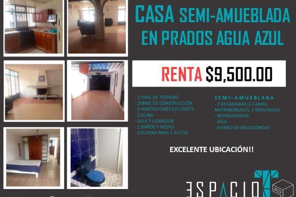 Foto de casa en renta en 53 poniente 100, prados agua azul, puebla, puebla, 3685254 No. 01