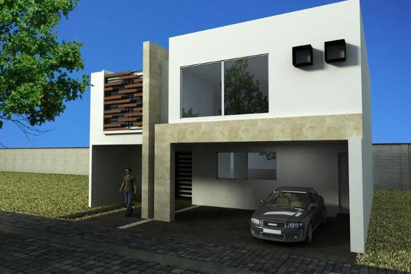 Foto de casa en venta en en pre venta prolongación de la 3 poniente casi esquina con la 15 sur) 5324, zerezotla, san pedro cholula, puebla, 2713319 No. 01