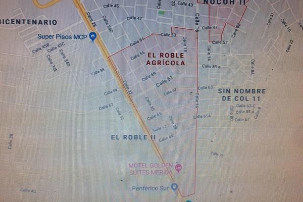 Foto de terreno habitacional en venta en 67 , el roble agrícola, mérida, yucatán, 14027666 No. 03