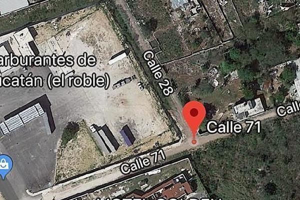 Foto de terreno habitacional en venta en 71 , el roble agrícola, mérida, yucatán, 14027662 No. 01
