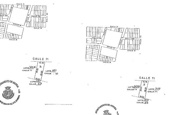 Foto de terreno habitacional en venta en 71 , el roble agrícola, mérida, yucatán, 14027662 No. 02