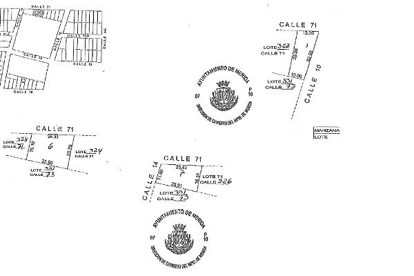 Foto de terreno habitacional en venta en 71 , el roble agrícola, mérida, yucatán, 14027662 No. 04