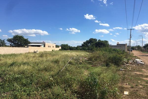 Foto de terreno habitacional en venta en 7b x 34 , san pedro noh pat, kanasín, yucatán, 0 No. 01