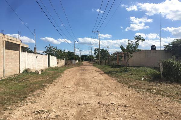 Foto de terreno habitacional en venta en 7b x 34 , san pedro noh pat, kanasín, yucatán, 0 No. 07