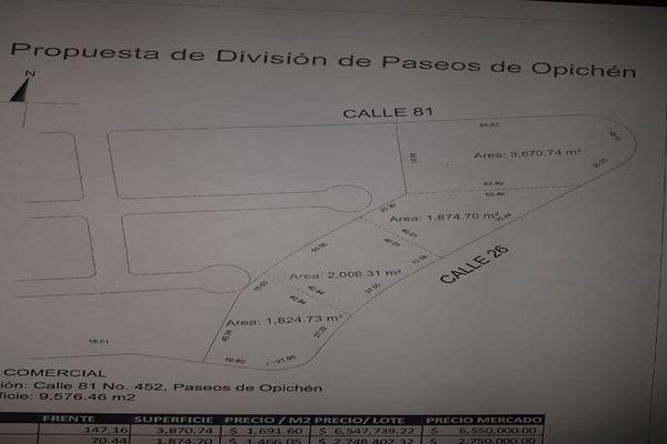 Foto de terreno habitacional en venta en 81 , paseos de opichen la joya, mérida, yucatán, 7526304 No. 03