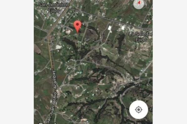 Foto de terreno habitacional en venta en a 1, san jerónimo, aculco, méxico, 4236905 No. 03