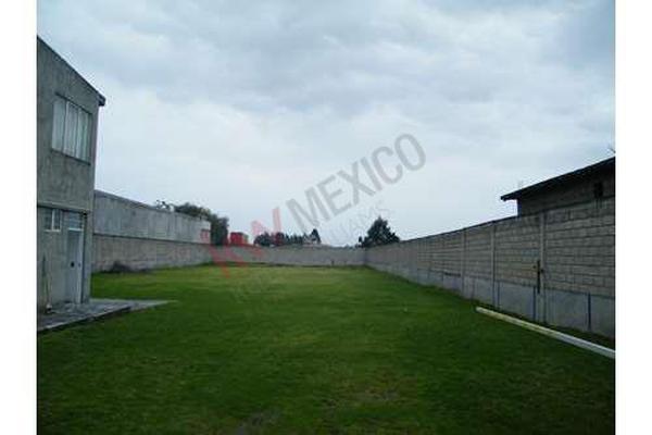 Foto de terreno habitacional en venta en  , agrícola francisco i. madero, metepec, méxico, 8718084 No. 04