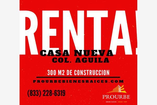 Foto de casa en renta en  , águila, tampico, tamaulipas, 7480930 No. 01