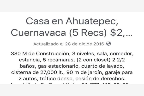 Foto de casa en venta en ahuatepec , ahuatepec, cuernavaca, morelos, 7474312 No. 41