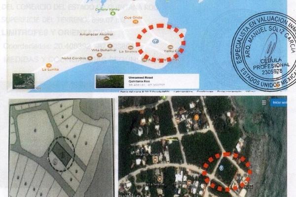 Foto de terreno comercial en venta en  , akumal, tulum, quintana roo, 4669549 No. 08
