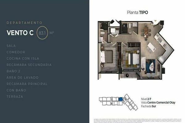 Foto de departamento en venta en alameda otay , la pechuga, tijuana, baja california, 0 No. 07