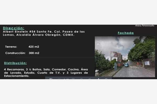 Foto de casa en venta en albert eistein 54, paseo de las lomas, álvaro obregón, df / cdmx, 7148707 No. 01