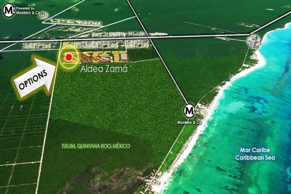 Foto de terreno habitacional en venta en aldea zama aldea pemium lotes 16 y 17 , tulum centro, tulum, quintana roo, 5815924 No. 02