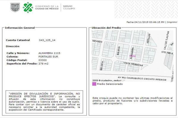Foto de casa en venta en alhambra 1115, portales sur, benito juárez, df / cdmx, 15249218 No. 07