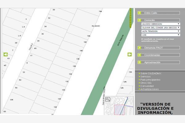 Foto de casa en venta en alta tension 0, olivar del conde 1a sección, álvaro obregón, df / cdmx, 5954081 No. 03