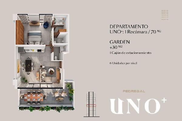 Foto de departamento en venta en  , altabrisa, mérida, yucatán, 10246624 No. 02