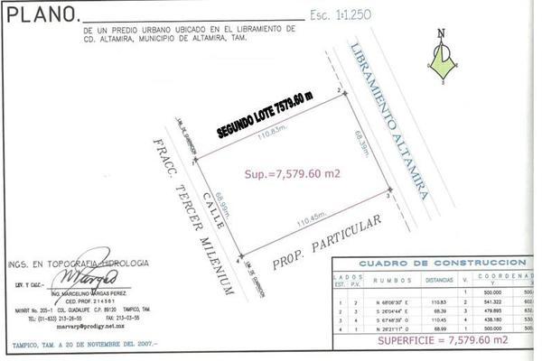 Foto de terreno habitacional en venta en  , altamira, altamira, tamaulipas, 13352543 No. 02