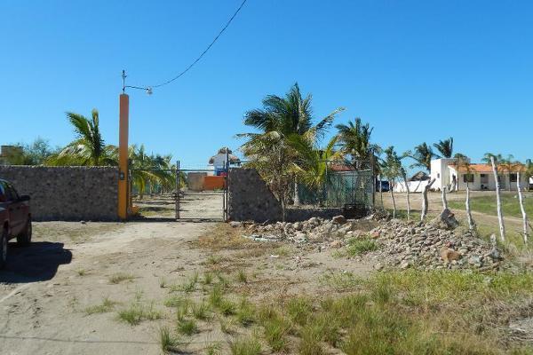 Foto de terreno comercial en venta en  , altata, navolato, sinaloa, 7887386 No. 04