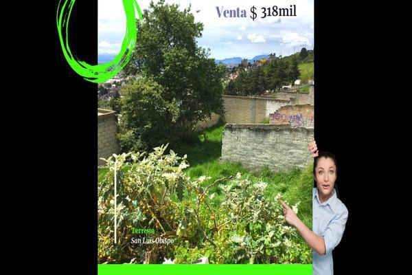 Foto de terreno habitacional en venta en altavista , san luis obispo, toluca, méxico, 0 No. 01