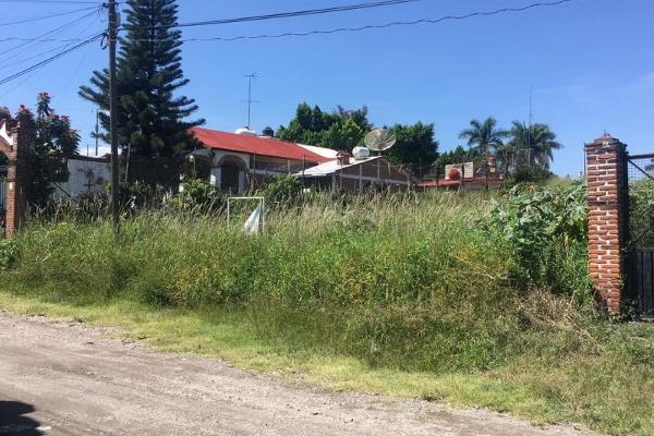 Foto de terreno habitacional en venta en  , altos de oaxtepec, yautepec, morelos, 5390782 No. 01