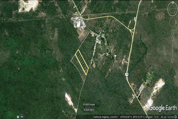 Foto de terreno habitacional en venta en  , amalia solórzano iii, kanasín, yucatán, 0 No. 04