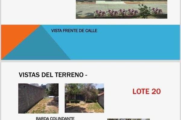 Foto de terreno habitacional en venta en amargura , jardines de la herradura, huixquilucan, m?xico, 6168813 No. 02
