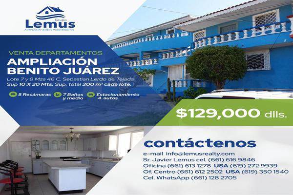 Foto de casa en venta en  , ampliación benito juárez, playas de rosarito, baja california, 8043306 No. 01