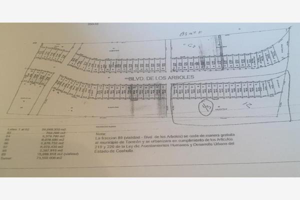 Foto de terreno comercial en venta en  , ampliación senderos, torreón, coahuila de zaragoza, 5877296 No. 05