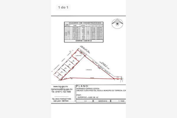 Foto de terreno habitacional en venta en  , ampliación senderos, torreón, coahuila de zaragoza, 7300997 No. 06