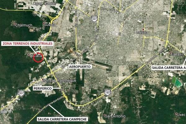 Foto de terreno habitacional en venta en  , ampliación tixcacal opichen, mérida, yucatán, 8067833 No. 01